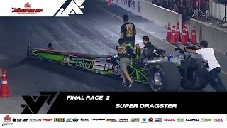 Final Round 2 : Super Dragster Benzene| Super Dragster Diesel | Souped Up 2019