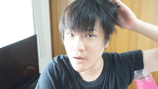 簡単にできる韓流スター風髪セット
