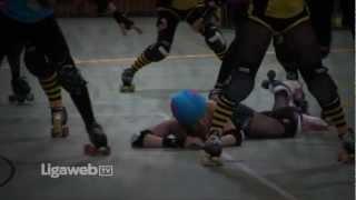 preview picture of video 'Ligaweb.tv - Trailer zu rocKArollers vs. Prague City Roller'