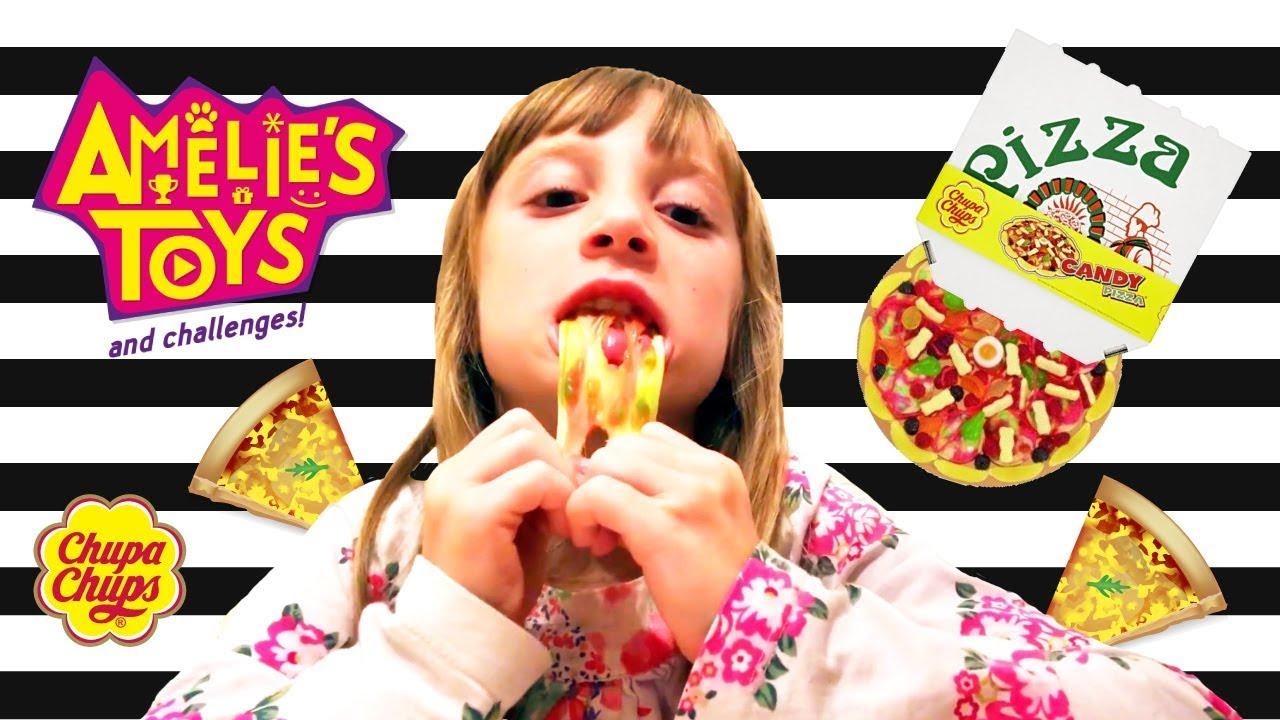 Real Pizza vs Gummy Pizza