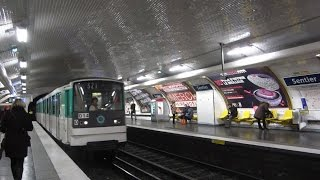 preview picture of video '[Paris] MF67 Métro 3 - Sentier'