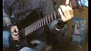 Adagio Fire Forever cover with 7 strings guitar by Neo