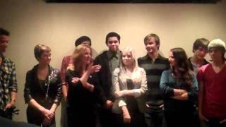 Le Cast de Degrassi à une session de questions/réponses - Degrassi In India DVD Release
