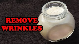 HOMEMADE WRINKLE CREAM | DIY ANTI AGING FACE CREAM TO REDUCE WRINKLES ON FACE NATURALLY