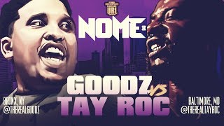 TAY ROC VS GOODZ SMACK/ URL RAP BATTLE | URLTV