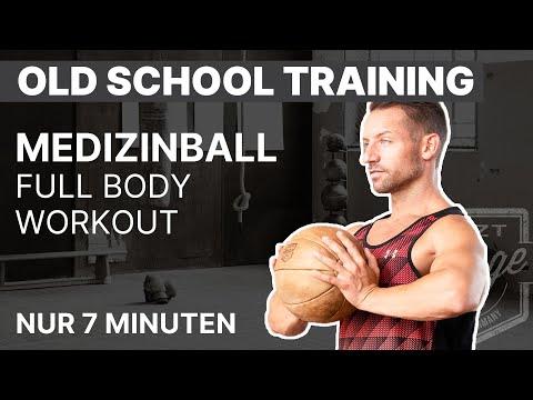 Medizinball-Workout: In nur 7 Minuten den gesamten Körper trainieren | ARTZT