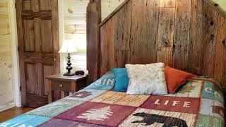 BEAUTIFUL DIY Barn Wood Headboard For The Kentucky Farmhouse Rehab Project!