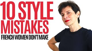 🇫🇷10 Style Mistakes Women Over 50 Make That French Women Never Do