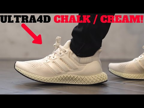 AMAZING! Chalk Cream Adidas Ultra4D Review + On Feet!