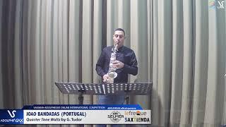 Joao BANDADAS plays  Quarter tone Waltz by G. Tudor #adolphesax