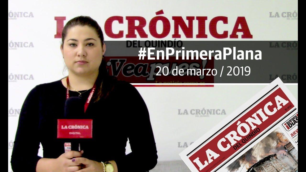 En Primera Plana: lo que será noticia este jueves 21 de marzo