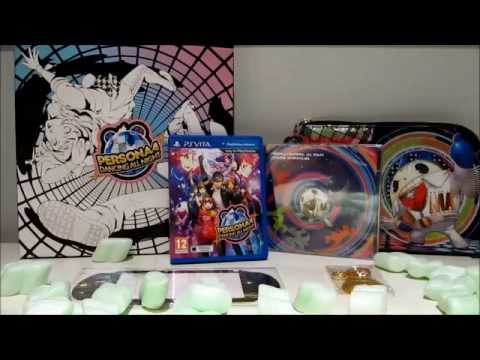 Persona 4: Dancing All Night ~Disco Fever Edition~ Unboxing