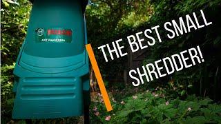 Bosch AXT Rapid 2200W Electric Shredder Review