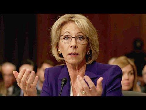 Betsy DeVos Ok With Discrimination In Schools