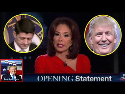Last Night Donald Trump And Judge Jeanine Did The ULTIMATE REVENGE To END Paul Ryan's Career!