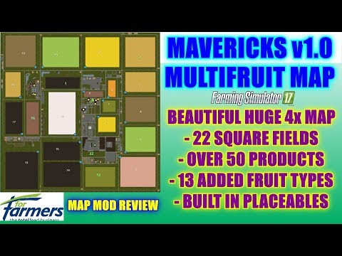 Mavericks Multifruit Edition 4x Map