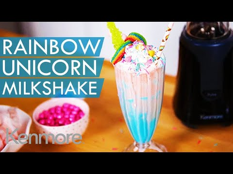 Rainbow Unicorn Milkshake Recipe: Fun Summer Drink Ideas | Kenmore