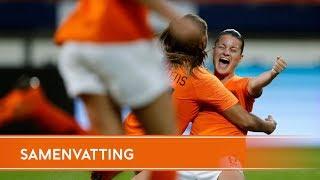 Highlights: OranjeLeeuwinnen - Slowakije (12/6/2018)