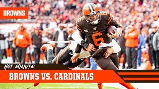Prepping for Showdown Against Cardinals | Browns Hot Minute