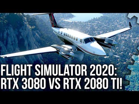 Flight Simulator 2020: RTX 3080 vs RTX 2080 Ti – a 4K Head-to-Head Shoot-Out!