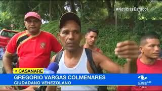 DRAMÁTICA SITUACIÓN DE VENEZOLANOS QUE HUYEN DEL RÉGIMEN DE MADURO.