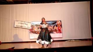 FOKANA New York 2015 - Anjali Vettom Solo Dance