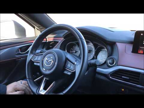 How To Adjust The Height Of The Mazda CX-9 Active Driving Display (HUD)