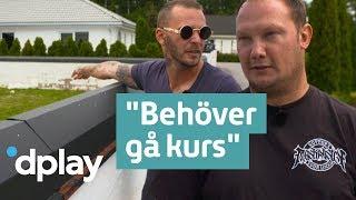 Familjen Lundell   Jocke har inte koll på vad som krävs för att få bygga garage   Streama på Dplay