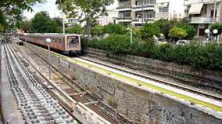 preview picture of video 'ISAP (ΗΣΑΠ) Electric Railways Athens-Piraeus (06/06/10)'