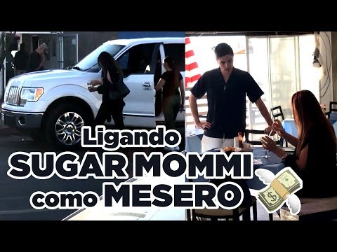Ligando a SUGARMOMMI - Me hice Pasar por Mesero | Pablo Troncoso Jr