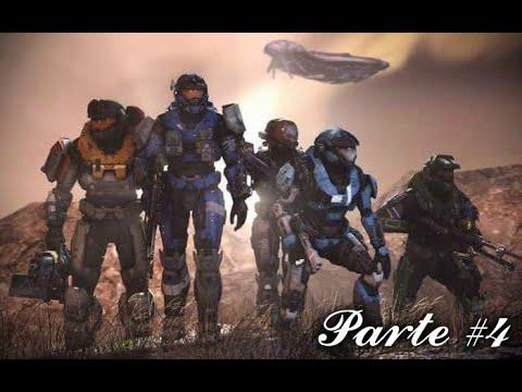 Halo Reach PC  - Parte 4 Larga noche de consuelo -  Exodo