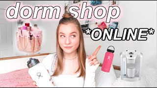 How To Dorm Room Shop ONLINE // College Amazon Must Haves 2020