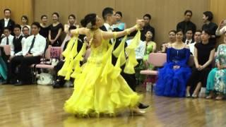 社交ダンス タンゴ 第1位 第13回ヤングサークル10ダンス選手権 若者サークル競技会