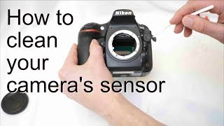 How to clean your sensor
