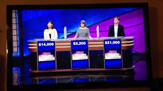 Most Embarrassing Jeopardy loss EVER!!