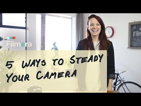 How To Film Steady Shots With Your Camera Without Expensive Gear