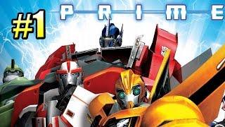 Трансформеры Прайм {Transformers Prime The Game} часть #1 — Метеоритные Войны