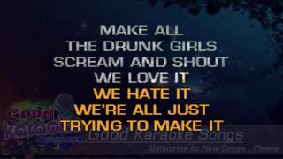 Crazy Town  - Jason Aldean (Lyrics Karaoke) [ Goodkaraokesongs.com ]