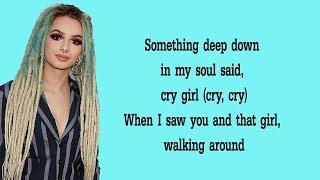 Zhavia - Deep Down (Lyrics)🎵