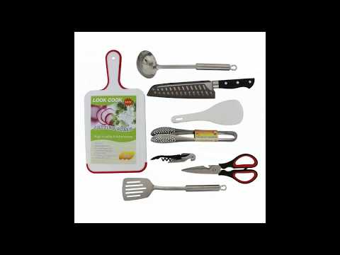 Redneck Convent Camping Utensils Outdoor Cooking Camping Accessories 8-Piece