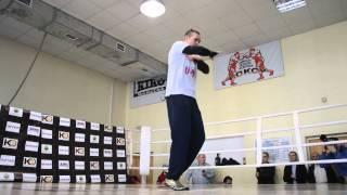Тренировка Усика танец под Меладзе