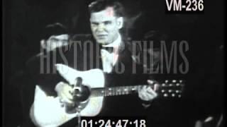 In Memoriam - Doc Watson Performs 'Deep River Blue' circa 1960's
