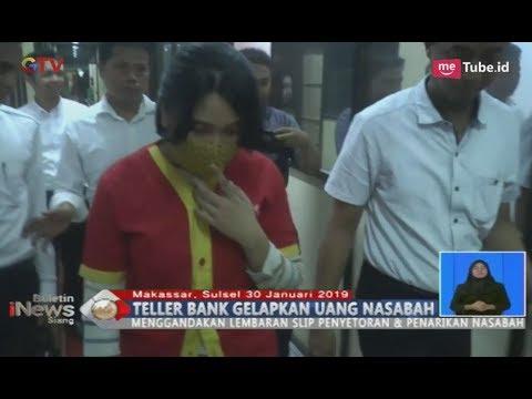 Palsukan Tanda Tangan Nasabah, Teller Bank Gelapkan Uang Senilai Rp2,3 Miliar - BIS 31/01