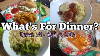 What's For Dinner? | Real Life Meal Ideas