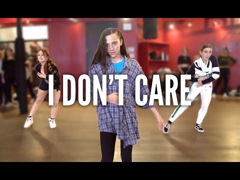 ED SHEERAN & JUSTIN BIEBER - I Don't Care | Kyle Hanagami Choreographer