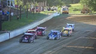 Modified Heat, 7/7/18 Woodhull Raceway, pit view