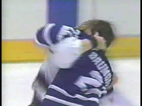 Marty McSorley vs. Ken Baumgartner