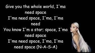 Gambar cover Ariana Grande - NASA (lyrics)