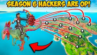 SUPER OP *HACKER* CAUGHT USING AIMBOT!! - Fortnite Funny Fails and WTF Moments! 1255