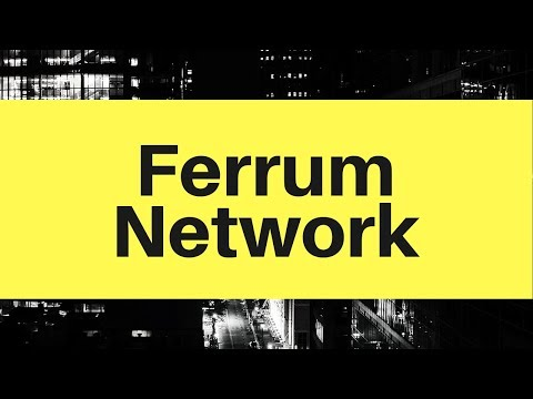 Ferrum Network - All cryptocurrencies in one